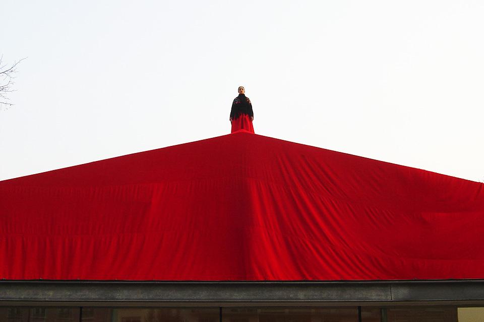 Sur le toit de Pantin, 2007